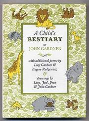 A CHILD'S BESTIARY by John Gardner