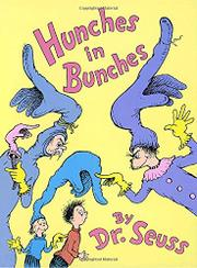 Cover art for HUNCHES IN BUNCHES
