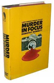 MURDER IN FOCUS by Dorothy Dunnett