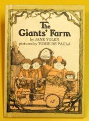 THE GIANTS' FARM by Tomie dePaola