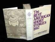 Cover art for THE BEST AMERICAN SHORT STORIES