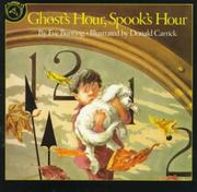GHOST'S HOUR, SPOOK'S HOUR by Eve Bunting