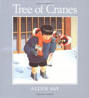 TREE OF CRANES by Allen Say