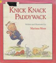 KNICK KNACK PADDYWACK by Marissa Moss