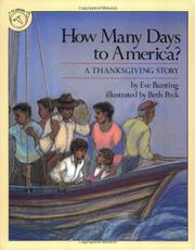 HOW MANY DAYS TO AMERICA? by Beth Peck