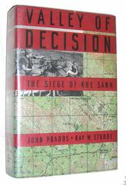 VALLEY OF DECISION by John Prados