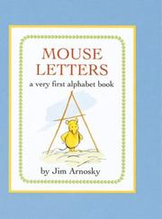 MOUSE LETTERS by Jim Arnosky