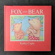 FOX AND BEAR by Kathy Caple