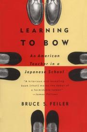 Cover art for LEARNING TO BOW