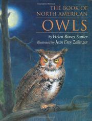 THE BOOK OF NORTH AMERICAN OWLS by Helen Roney Sattler