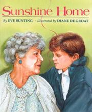 SUNSHINE HOME by Eve Bunting