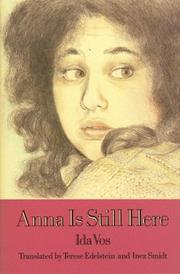 Cover art for ANNA IS STILL HERE