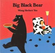 Book Cover for BIG BLACK BEAR