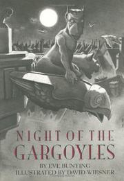 Cover art for NIGHT OF THE GARGOYLES