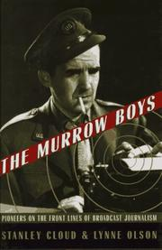 Cover art for THE MURROW BOYS