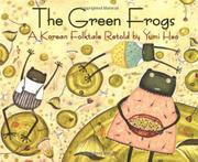 THE GREEN FROGS by Yumi  Heo