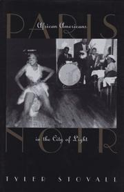 Cover art for PARIS NOIR