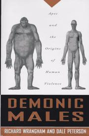 DEMONIC MALES by Richard Wrangham