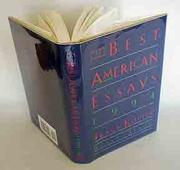 Cover art for THE BEST AMERICAN ESSAYS 1994