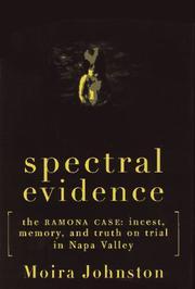 SPECTRAL EVIDENCE by Moira Johnston