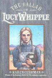 Cover art for THE BALLAD OF LUCY WHIPPLE