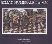 ROMAN NUMERALS I TO MM by Arthur  Geisert
