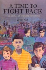 A TIME TO FIGHT BACK by Jayne Pettit