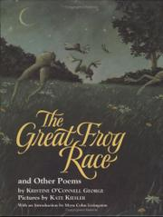 THE GREAT FROG RACE by Kristine O'Connell George