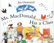 Cover art for MS. MACDONALD HAS A CLASS