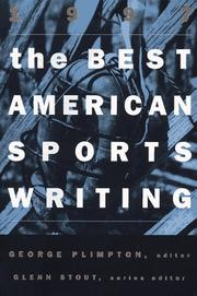 THE BEST AMERICAN SPORTS WRITING 1997 by George Plimpton