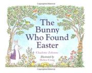 Cover art for THE BUNNY WHO FOUND EASTER