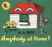 ANYBODY AT HOME? by H.A. Rey