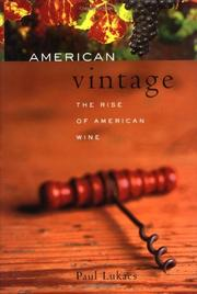 Book Cover for AMERICAN VINTAGE