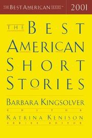 Cover art for THE BEST AMERICAN SHORT STORIES 2001