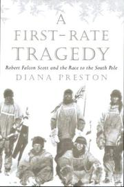 A FIRST RATE TRAGEDY by Diana Preston