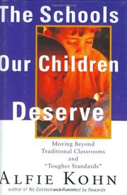Book Cover for THE SCHOOLS OUR CHILDREN DESERVE