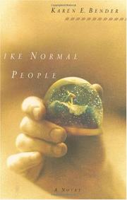 Book Cover for LIKE NORMAL PEOPLE