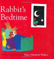 Cover art for RABBIT'S BEDTIME