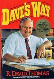 DAVE'S WAY by R. David Thomas