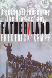 FATHER/LAND by Frederick Kempe