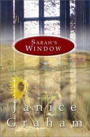 SARAH'S WIDOW by Janice Graham
