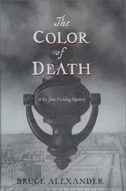 Book Cover for THE COLOR OF DEATH