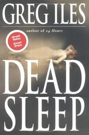 Cover art for DEAD SLEEP