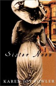 Cover art for SISTER NOON