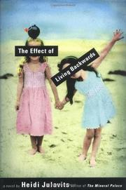 Cover art for THE EFFECT OF LIVING BACKWARDS