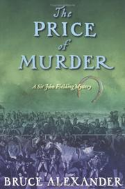Cover art for THE PRICE OF MURDER