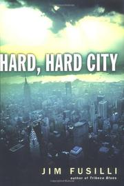 Cover art for HARD, HARD CITY