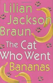 Cover art for THE CAT WHO WENT BANANAS