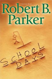 Book Cover for SCHOOL DAYS