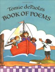 Cover art for TOMIE DEPAOLA'S BOOK OF POEMS